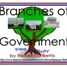 """Students sort facts about the 3 branches of the government, written on leaf shapes. Then they glue the leaves to the correct branch of a """"branches of government tree"""". Can Someone please get this and send it to Rick Santorum? 3rd Grade Social Studies, Social Studies Activities, Teaching Social Studies, Interactive Activities, Classroom Activities, Classroom Ideas, Teaching Activities, Interactive Notebooks, School Fun"""
