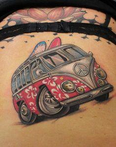 van bus tattoo - Google zoeken