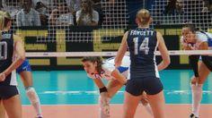E la smettete di fare velo? Cristina Chirichella - Nicole Fawcett Italia - Stati Uniti 3-0