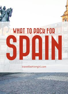 awesome If you're wondering what to pack for Spain vacations, Madrid expat Brandy from It's One World Travel shares her inside travel packing tips! Read more! CONTINUE READING Shared by: Cinque Terre, Oh The Places You'll Go, Places To Travel, Grenade, Barcelona Travel, Madrid Travel, Packing Tips For Travel, Travel Hacks, Travel Ideas