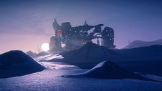 Esamir ice planet