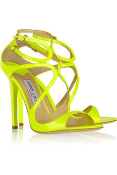 Yellow Shoes by Jimmy Choo #Yellow #glam