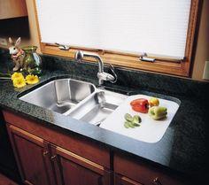 5 Drainboard Sinks That Will Make You Love Drainboard Sinks: Elkay  Lustertone Undermount Drainboard Sink