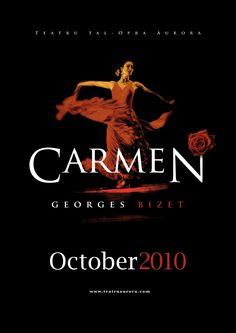 """""""Quase cancelada por sua temática sexual e violenta, a ópera Carmen, de Georges Bizet, estreia no teatro Opéra-Comique, em Paris."""""""