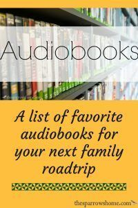 Audiobooks are a fantastic way to pass them time on long family road trips. Check out this list of series and other audiobooks that my family has loved.