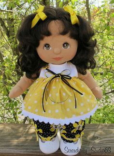 "Custom Pants Set 4 MY CHILD DOLL -""Busy Bees"" #SerendipityStudio #ClothingAccessories"