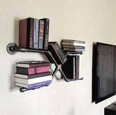 X Pipe Book Shelf