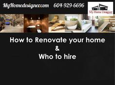 How to Renovate your home New Home Designs, New Homes, House Design, New House Designs, Architecture Design, House Plans, Home Design, Design Homes