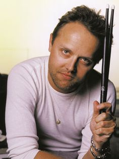 Lars Ulrich. Danish drummer. Metallica - I met him when he was a celebrity bartender at Lord of the Balls Lounge in San Francisco one night.