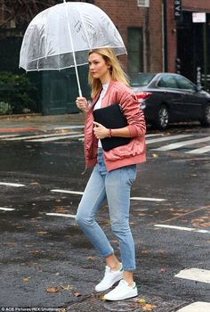 "Keep it classic like Karlie in Adidas Stan Smiths Click ""Visit"" to buy #DailyMail"
