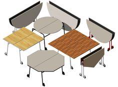 table folding caster - Google 검색