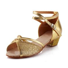 Dance+Shoes+-+$19.99+-+Women's+Kids'+Leatherette+Heels+Sandals+Pumps+Latin+Ballroom+With+Ankle+Strap+Dance+Shoes+(053041586)+http://jjshouse.com/Women-S-Kids-Leatherette-Heels-Sandals-Pumps-Latin-Ballroom-With-Ankle-Strap-Dance-Shoes-053041586-g41586