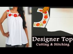 Sewing Tops Gathered Sweetheart Yoke Top Cutting and Stitching Sewing Hacks, Sewing Tutorials, Sewing Patterns, Sewing Ideas, Sewing Crafts, Sewing Projects, Girls Dresses Sewing, Sewing Clothes, Baby Dresses
