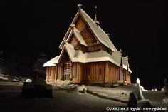 Reinli stave church, Oppland, Norway.