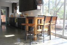 Eclectic Kitchen by Stacy Levin