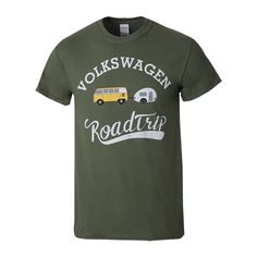 Gear up in this iconic VW Bus Roadtrip t-shirt from Volkswagen's Driver Gear collection. –<em>Bill@ChoiceGear</em>