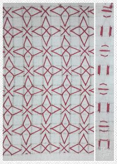 Calados de Pollera No 85 Needle Lace, Gingham, Blackwork, Sewing Hacks, Cross Stitch, Quilts, Blanket, Chicken Scratch Embroidery, Diy Crafts