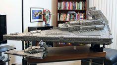 Il existe de nombreux talents dans le monde des amateurs de LEGO. Mais cette construction nous a laissé bouche bée. Le Destroyer stellaire produit par Lego en 2014 vous faisait rêver.