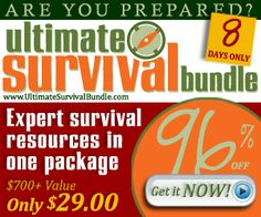 The Ultimate Survival Bundle - 72 Hour Kits - Emergency Preparedness