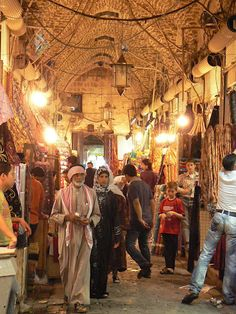 Souq Syria - Aleppo, before ...
