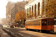 My earliest travel experiences were in San Francisco. I still love to visit.