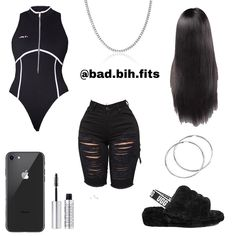Swag Outfits For Girls, Cute Swag Outfits, Teen Fashion Outfits, Teenager Outfits, Curvy Outfits, Dope Outfits, Simple Outfits, Stylish Outfits, Summer Outfits
