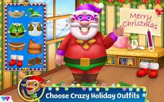 Santa's Little Helper - Let's Help Santa Clean Up House Is A Mess, Messy House, Christmas Puzzle, Christmas Fun, Kids Tv Channels, Weird Holidays, Happy Holidays, Fun Educational Games, Santa's Little Helper