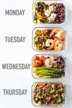 Meal prepping is the secret to a healthy lifestyle and here is a meal prep idea for 4 different meals all made in one go. How to Meal Prep 2.0 so to speak.