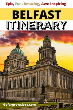 Belfast City Break With Teens: An Action Packed Itinerary - Go Far Grow Close Belfast Attractions, Belfast Restaurants, Belfast Pubs, Belfast Titanic, Belfast City, Europe Travel Guide, Europe Destinations, Travel Guides