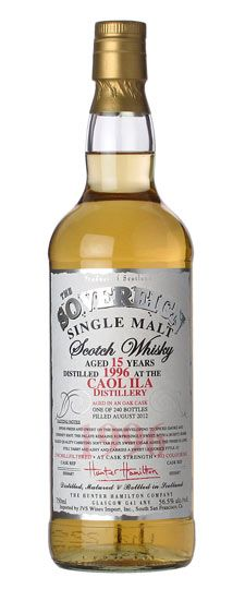 1996 Caol Ila 15 Year Old K Exclusive Sovereign Single Barrel Cask Strength Single Malt Whisky