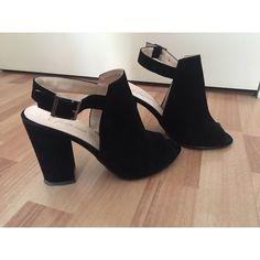 Siyah Yazlık Süet Ayakkabı