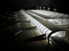 Architecture Model Airport