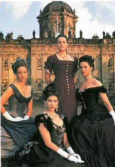 BBC's Edith Wharton's The Buccaneers (1995) #CostumeDesign: Rosalind Ebbutt