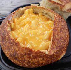 Mac & Cheese Sourdough Bread Bowl at Pacific Wharf Café, Pacific Wharf, California Adventure