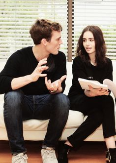 Sam Claflin & Lily Collins | Love, Rosie