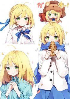 Fate Zero, Kawaii Girl, Kawaii Anime, Type Moon Anime, Fate/stay Night, Character Art, Character Design, Arturia Pendragon, Fate Anime Series