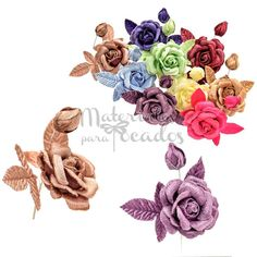 VELVET flowers  #velvetflowers #miniflowers