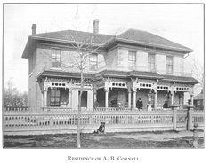 Cornell Residence, Goderich, Ontario c.1897 #Goderich #RediscoverGoderich #VintageGoderich