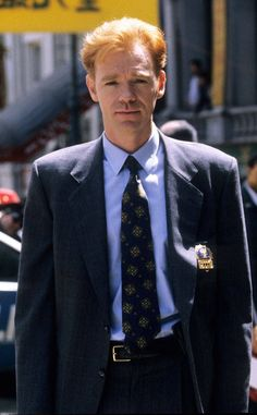 Another Did he really just leave one of TV's biggest shows? moments—David Caruso left NYPD Blue after one season due to contract issues. Josh Charles, Marissa Cooper, Christopher Abbott, David Caruso, Nypd Blue, Detective, Criminal Minds Cast, Vintage Television, Patrick Dempsey