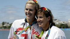 Katherine Grainger, right #Scottish #olymipians  Go 3Scotland @ Deedidit.