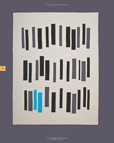 Modern quilt style,  a book too