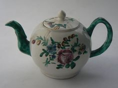 Image: Unattributed stoneware teapot and cover