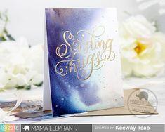 Sending Hugs with Keeway Sending Hugs, Mama Elephant, Elephant Design, Alcohol Ink Art, Distress Ink, I Card, Creative, Masking, Blog