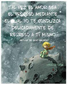 Antoine de Saint Exupery. Pinterest: @positiva_mente