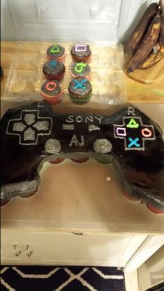 Pull Apart Xbox Controller Cupcake Cake Cuppies In 2019