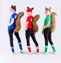 This Alvin and the Chipmunks Costume Is the Perfect Tweens Group Costume DIY a Chipmunks group Halloween costume with this easy tutorial. The post This Alvin and the Chipmunks Costume Is the Perfect Tweens Group Costume appeared first on Halloween Makeup.