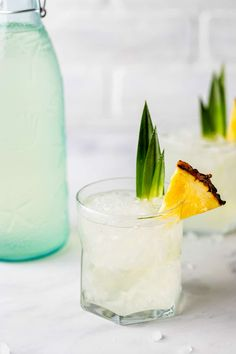 Stoli Vodka, Vodka Martini, Vodka Drinks, Frozen Drinks, Beverages, Pineapple Infused Vodka, Dole Pineapple, Vodka Lime, Pineapple Juice