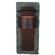 Buy the Kenroy Home Slate Direct. Shop for the Kenroy Home Slate Pembrooke 1 Light Small Outdoor Wall Sconce and save. Outdoor Wall Lantern, Outdoor Wall Sconce, Outdoor Wall Lighting, Outdoor Walls, Indoor Outdoor, Rustic Outdoor, Outdoor Rooms, Lighting Ideas, Sky Lantern