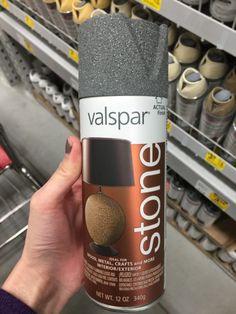 Spray Painting a Counter - DesigningDawn.com