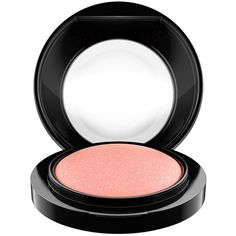 MAC Mineralize Blush - Colour Lovely ($29) ❤ liked on Polyvore featuring beauty products, makeup, cheek makeup, blush, blush brush, mineral blush and mac cosmetics